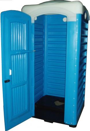 Туалетна кабінка для вигрібних ям, Стандарт. ТКС - Фото №1