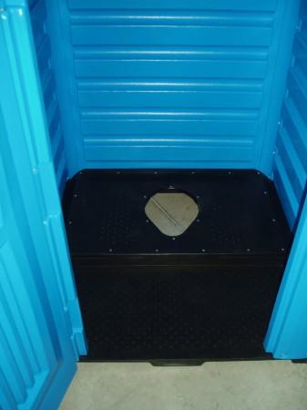 Туалетна кабінка для вигрібних ям, Стандарт. ТКС - Фото №2