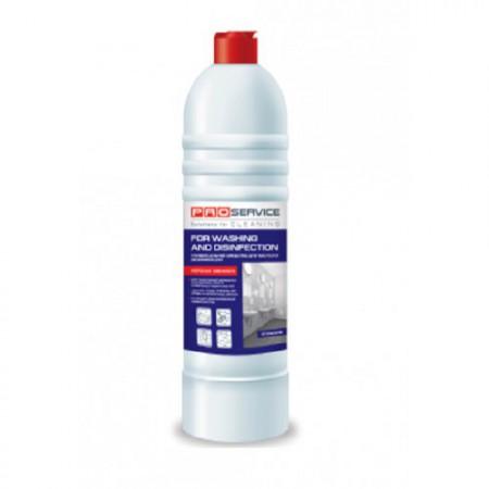 PRO Засіб для миття та дезинфекції 'Універсальний' з активним хлором, Морська свіжість, 1л. 25474500 - Фото №1