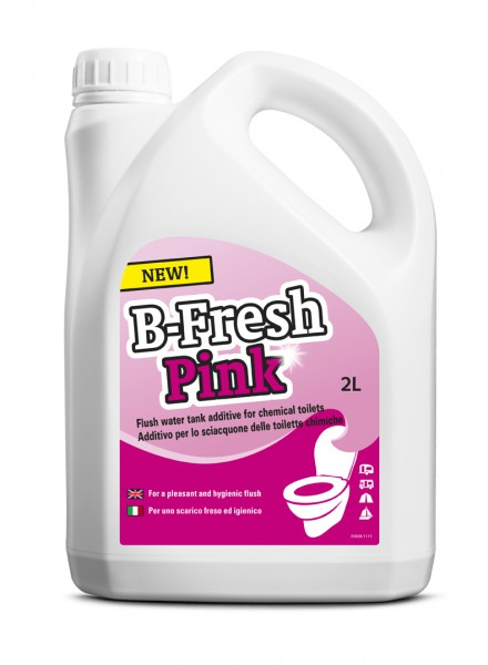 Средство д/биотуалетов B-Fresh-Pink, 2 л.  - Фото №1