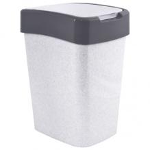 Корзина с качающейся крышкой для мусора  'Евро' 45л, 123068 - Фото №1