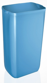 Урна для сміття, пластик синій, 23 л.  A74201AZ - Фото №1