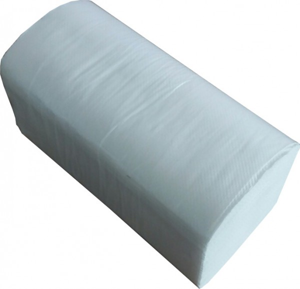 Паперові рушники листові, білі, V-складання, 2 шари, EcoPoint, Lux. VL-160. - Фото №2