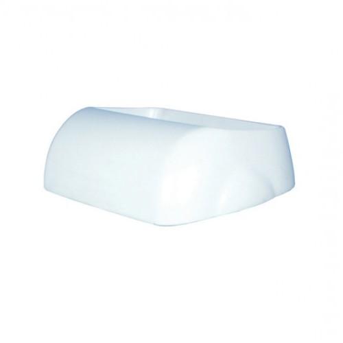 Кришка для урни 23л арт.A74201 PRESTIGE, пластик білий. A74401 - Фото №1