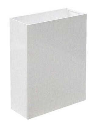 Корзина для паперових рушників метал білий 16 л. M 116W - Фото №1