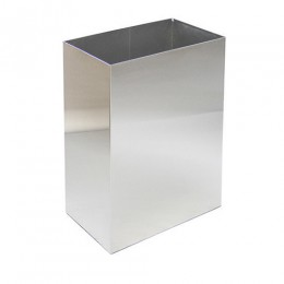 Корзина для бумажных полотенец металл матовый 65 л. M 165S. - Фото