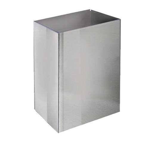 Корзина для паперових рушників метал глянсовий 65 л. M 165C - Фото №1