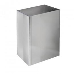 Корзина для бумажных полотенец метал глянцевый 65 л. M 165C - Фото
