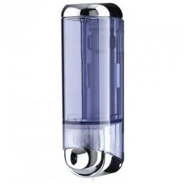 Дозатор рідкого мила 0.25 л, хромований/прозорий, пластик. A60500