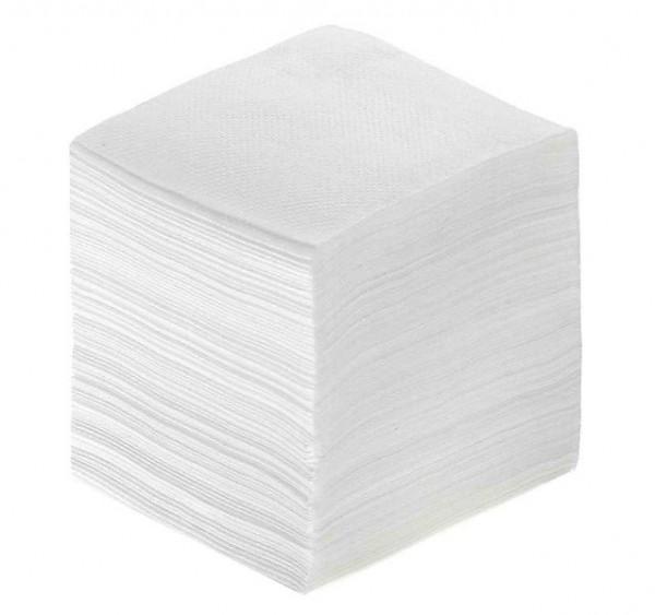 Туалетная бумага листовая, целлюлозная, белая. V-200 - Фото №1