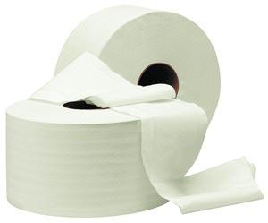 Туалетная бумага рулонная, целлюлоза, 2 слоя 90 м, Джамбо.  С-90 - Фото №1