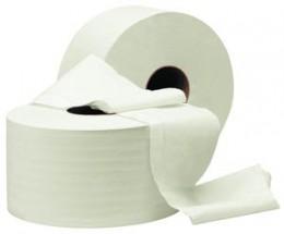 Туалетная бумага рулонная, целлюлоза. Джамбо. С-90 - Фото