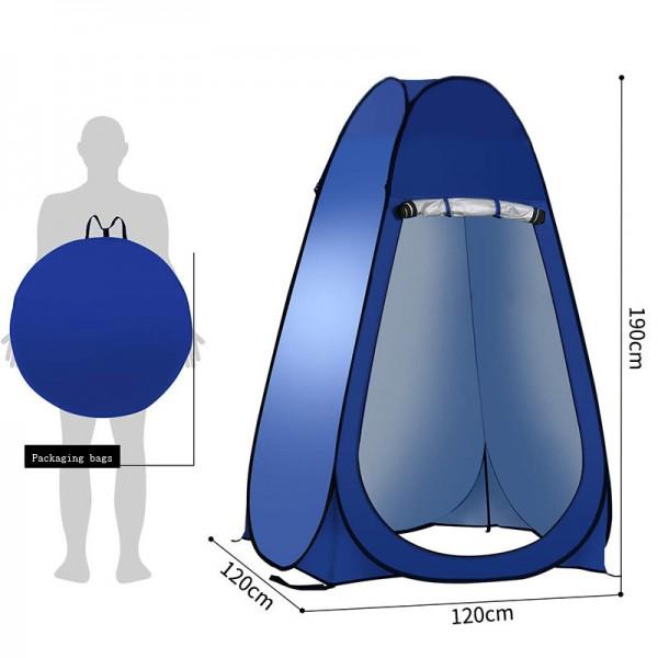 Тент. 640 Палатка з нейлону Pop up Tent - Фото №2