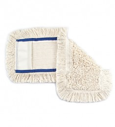 МОП (вкладыш) с карманами  для  уборки пола 40 см. NZE046. - Фото