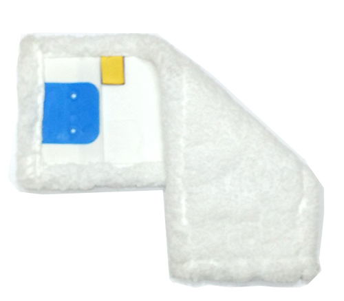 Моп (вкладка) з кишенями, відворотами з мікрофібри, 40 см. MB057-WP. - Фото №1