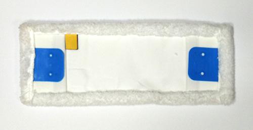 Моп (вкладка) з кишенями, відворотами з мікрофібри, 40 см. MB057-WP. - Фото №2