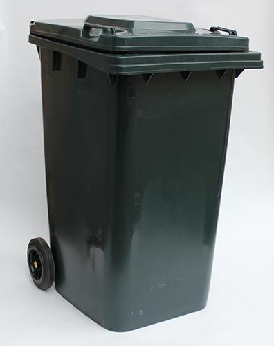 Бак для сміття  240л. темно-сірий. 240H2-19DG - Фото №2