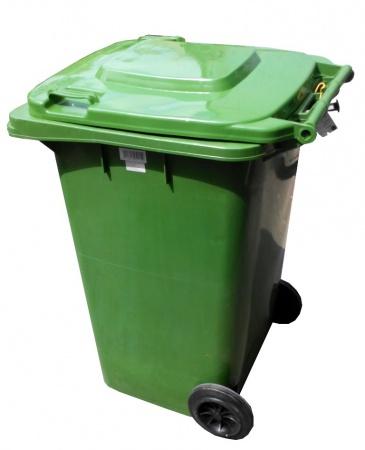 Бак для сміття  120л.  120A-9G - Фото №1