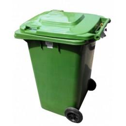 Бак для мусора  пластиковый 120л. 120A-9G - Фото