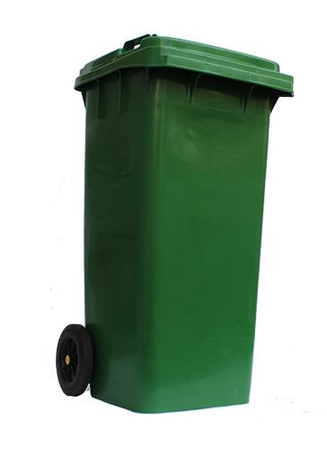 Бак для сміття  120л.  120A-9G - Фото №2