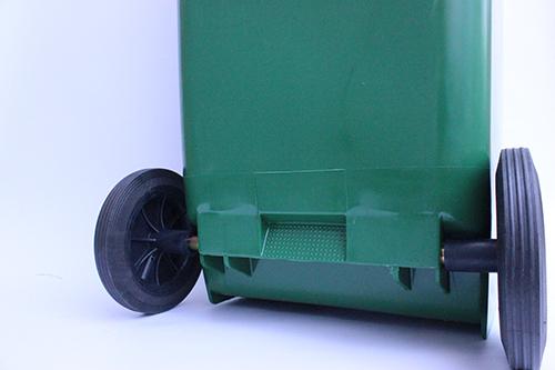 Бак для сміття  120л.  120A-9G - Фото №3