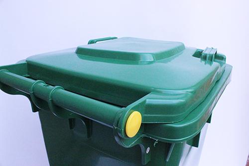 Бак для сміття  120л.  120A-9G - Фото №4
