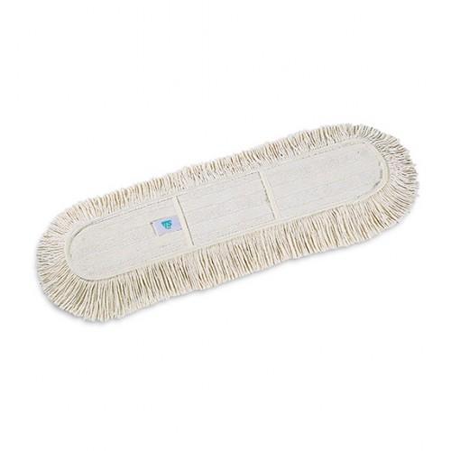 Моп (запаска) для сухого прибирання бавовна Basic Cotton 60 см. 00000136 - Фото №1