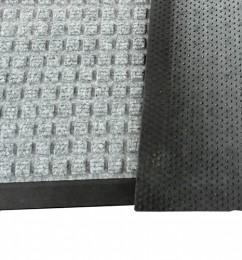 Грязезащитный  коврик Ватер-Холд (Water-hold), 60*90 серый.  1022503 - Фото