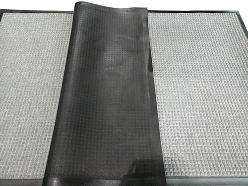 Брудозахисний килимок Ватер-Холд (Water-hold), 180 * 120, сірий. 1022501 - Фото №3
