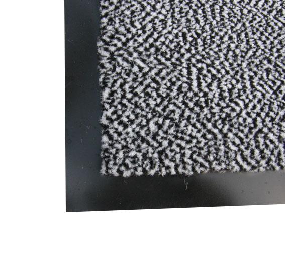 Поліпропіленовий брудозахисний килимок 120 * 180, сірий. 1022529 - Фото №1