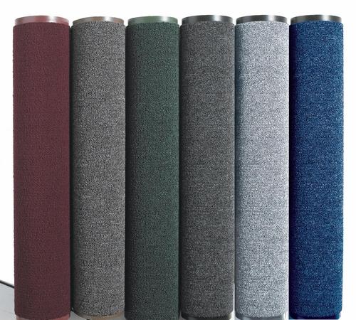 Полипропиленовый грязезащитный  коврик  в РУЛОНЕ ширина 90 см, серый. 1022531 - Фото №1