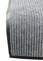 Грязезащитный коврик  Дабл Стрипт, 40*60 серый. 1022519 - Фото