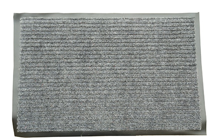 Грязезащитный коврик Дабл Стрипт, 60*90 серый. 1022511 - Фото №2