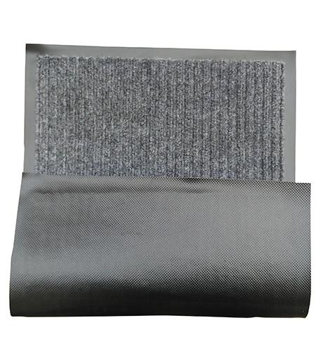 Грязезащитный коврик Дабл Стрипт, 60*90 серый. 1022511 - Фото №3