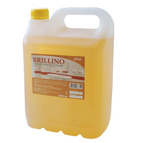 Засіб по догляду за сантехнікою Brillino 5л. BC145000 - Фото №1