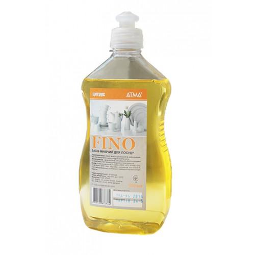 Засіб для ручного миття посуду FINO 0,5л. DW140500 - Фото №1