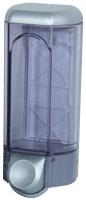 Дозатор рідкого мила 0.8 л, хромований/прозорий, пластик A56200 - Фото №2