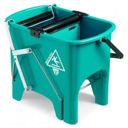 Ведро для уборки с отжимом SQUIZZY  зеленое, 15л. 0V006410 - Фото