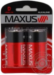 Батарейка MAXUS  D/R20 2 шт - Фото