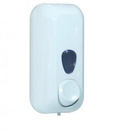 Дозатор жидкого мыла 0.55л, белый, пластик. A71411