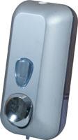 Дозатор рідкого мила 0.55л, білий, пластик.  A71411 - Фото №3