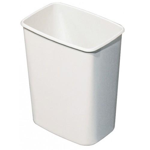 Урна для сміття ACQUALBA пластик білий 8 л. A57901 - Фото №1