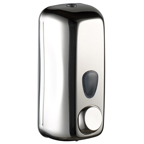 Дозатор жидкого мыла, 0.55 л, глянцевый, нерж.сталь.  A71400AP - Фото №1