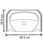 Тримач гігієнічних накладок на унітаз MAXI. K7 - Фото №2