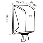 Тримач (диспенсер) рулонних рушників центральної витяжки. OG1M - Фото №2