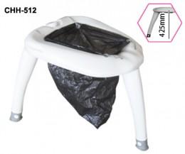 Портативний туалет E-pot на ножках, универсальный. CHH-512 - Фото