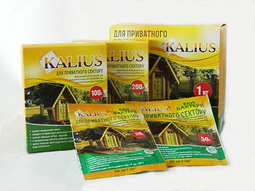 Биопрепарат для выгребных ям Калиус 1 кг - Фото №1