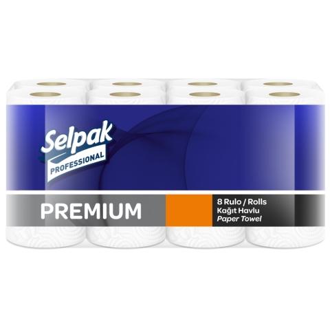 Паперові рушники рулонні. Selpak Pro. Premium. 3 шари. 32761210 - Фото №1