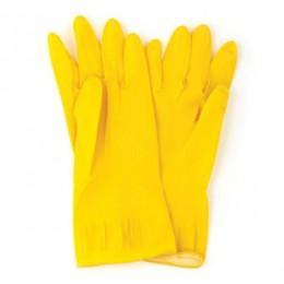 Перчатки универсальные латексные L,  OPTIMUM. 17201300 - Фото