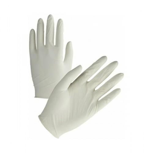 Перчатки латексные L(8-8.5) SKIN PROTEK. GU100L - Фото №4